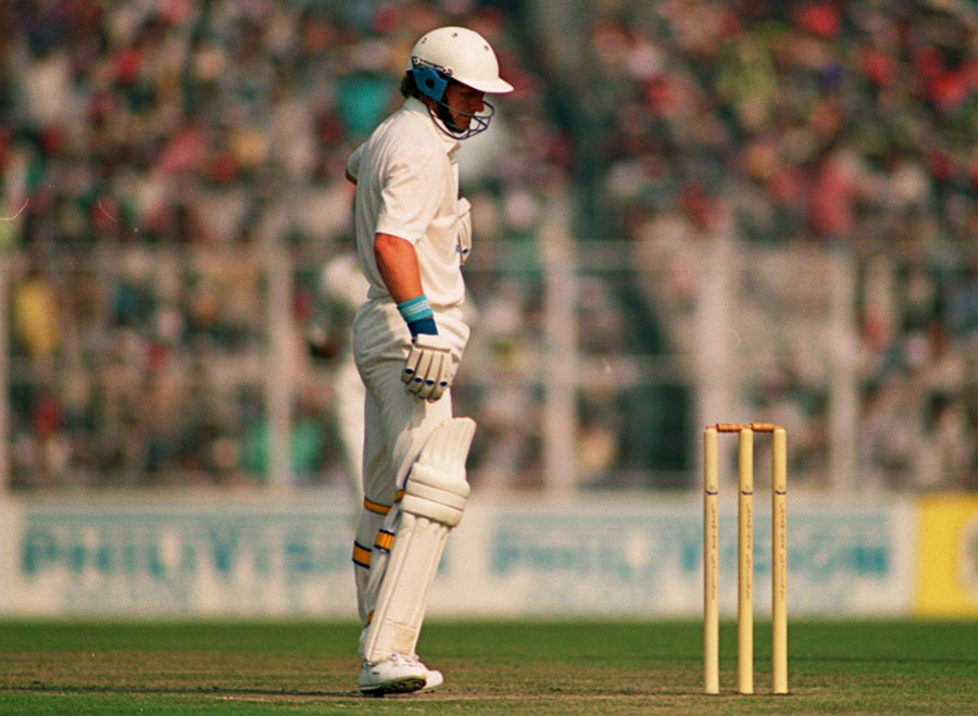 "<a href=""http://www.espncricinfo.com/southafrica/content/player/44465.html"" target=""_blank"">Jimmy Cook</a> v India, 1992. A South African run-machine who was almost 40 by the time of his Test debut, after missing out on years of international cricket due to apartheid. His son Stephen Cook made <a href=""http://www.espncricinfo.com/south-africa-v-england-2015-16/content/story/964541.html"" target=""_blank"">a century on Test debut</a>."