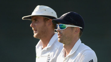 James Anderson and Stuart Broad returned the combined match figures of 11 for 126