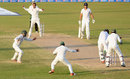 Ian Bell was bowled by Shoaib Malik for a duck, Pakistan v England, 3rd Test, Sharjah, 4th day, November 4, 2015