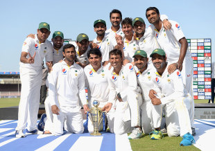 Wisden Pakistan V England 2015 16