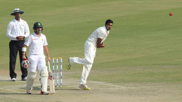 R Ashwin posted his 13th five-wicket haul in Tests