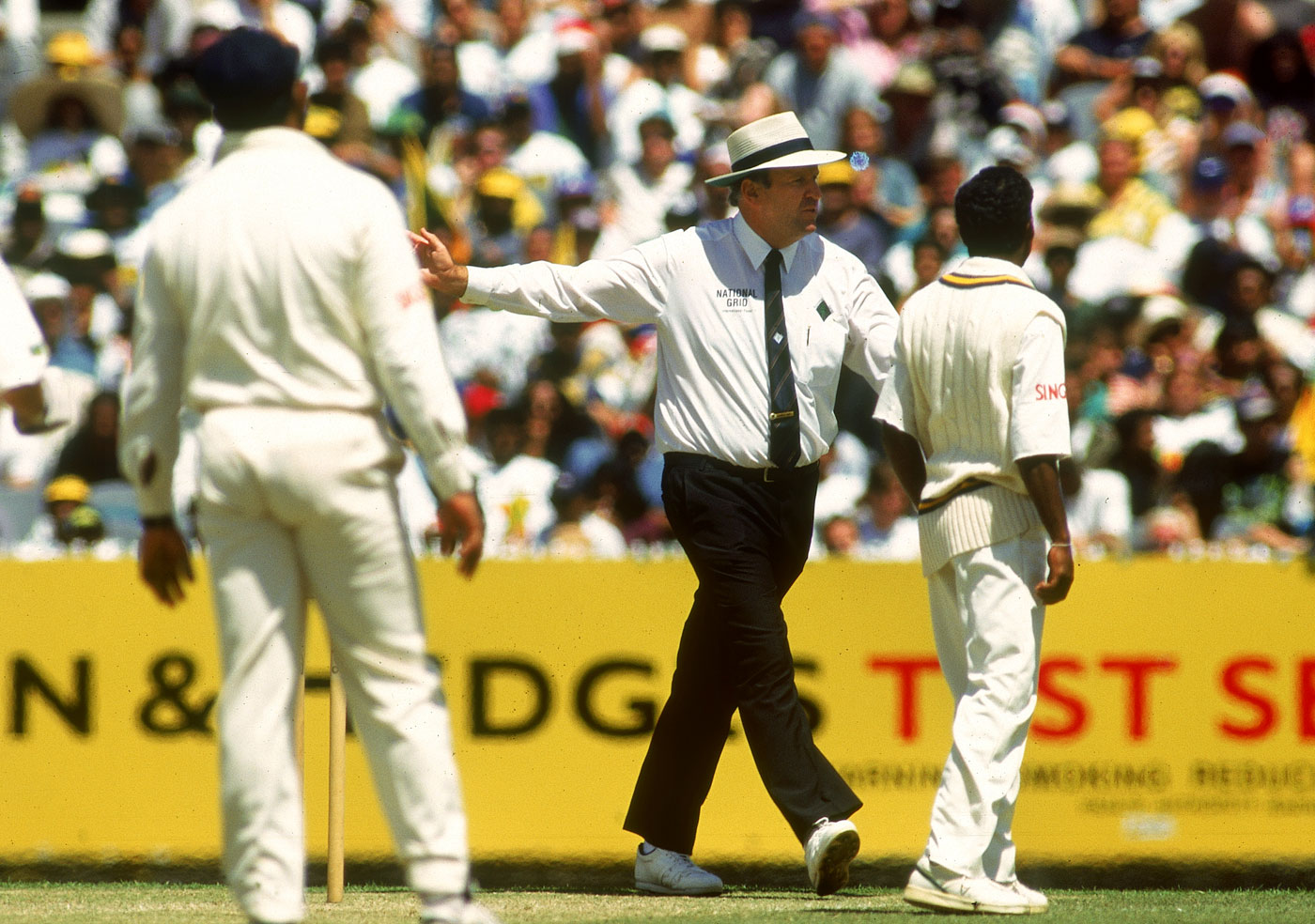 No, no, seven times no: Hair called Murali repeatedly over three overs on Boxing Day 1995