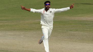 Ravindra Jadeja had Hashim Amla clean bowled