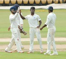 DT Chandrasekar picked up four wickets in the first innings, Tamil Nadu v Andhra, Ranji Trophy, Group B, 1st day, Chennai, November 7, 2015