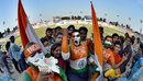 The fans make their presence felt in Mohali, India v South Africa, 1st Test, Mohali, 2nd day, November 6, 2015