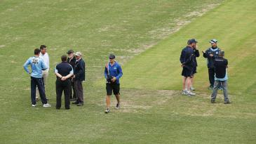 Officials discuss the state of the field
