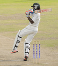 Kirk Edwards brought up his fifty, Barbados v Jamaica, Regional 4 Day Tournament, Bridgetown, 2nd day, November 7, 2015