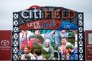 Citi Field had a carnival-like atmosphere, Sachin's Blasters v Warne's Warriors, Cricket All-Stars Series, 1st T20, New York, November 7, 2015
