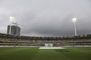 Rain washed out the third session, Australia v New Zealand, 1st Test, Brisbane, 4th day, November 8, 2015