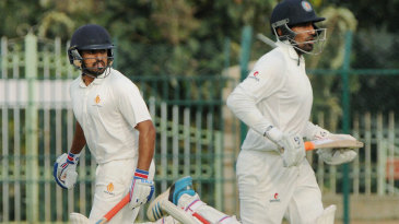 Karun Nair and Robin Uthappa shared an unbeaten 127-run stand