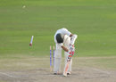 Brandon King was dismissed for 30, Barbados v Jamaica, Regional 4 Day Tournament, Bridgetown, 3rd day, November 8, 2015