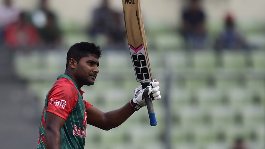 Imrul Kayes acknowledges his fifty