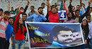 Fans in Mohali wish Virat Kohli on his birthday, India v South Africa, 1st Test, Mohali, 1st day, November 5, 2015