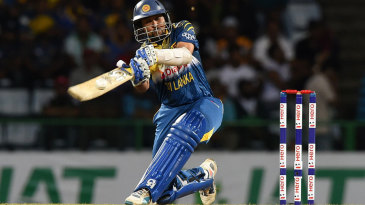 Tillakaratne Dilshan helped get the innings off to a flying start