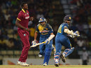 Tillakaratne Dilshan and Kusal Perera put on 91 for the first wicket, Sri Lanka v West Indies, 1st T20, Pallekele, November 9, 2015