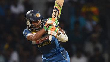 Dinesh Chandimal cracked an unbeaten 40 off 19 balls