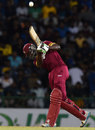 Andre Fletcher hit a spirited half-century, Sri Lanka v West Indies, 1st T20, Pallekele, November 9, 2015