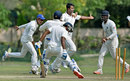Pragyan Ojha picked up match figures of 11 for 118, Bengal v Vidarbha, Ranji Trophy 2015-16, Group A, 4th day, Kolkata, November 10, 2015