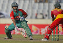 Tamim Iqbal was stumped by Graeme Cremer, Bangladesh v Zimbabwe, 3rd ODI, Mirpur, November 11, 2015