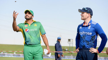 Eoin Morgan won the toss, after Alastair Cook, the Test captain, had lost all three earlier in the tour