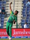 Bilal Asif in delivery stride , Pakistan v England, 1st ODI, Abu Dhabi, November 11, 2015