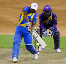Brian Lara pulls en route to his 21-ball 19, Sachin's Blasters v Warne's Warriors, 2nd T20, Houston, November 11, 2015