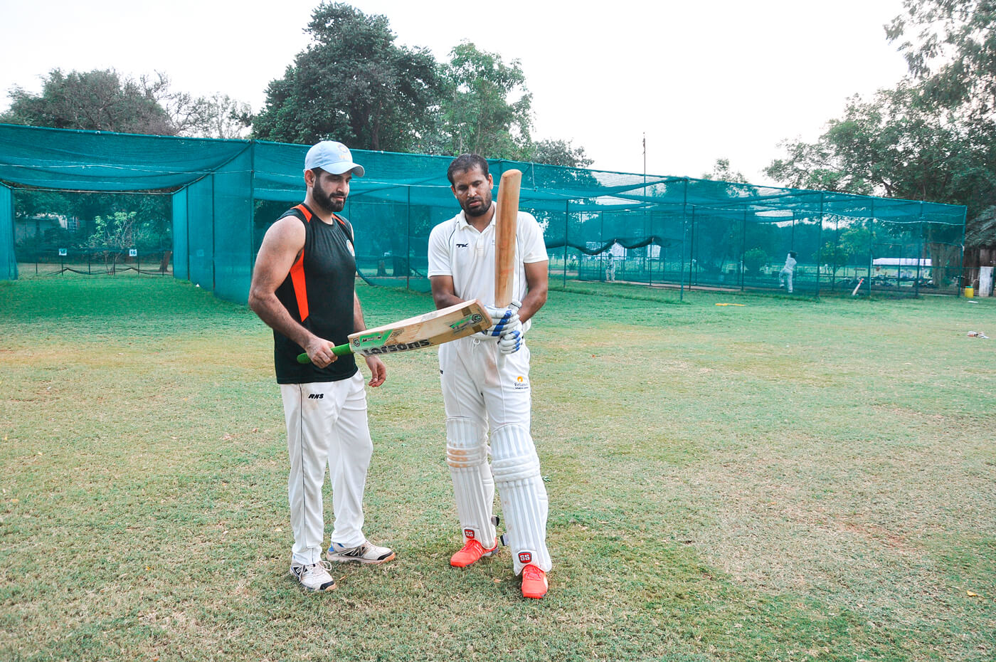 Irfan was the preferred choice at the top of the order for India, while Yusuf was used more for his late-order hitting