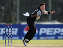 Erin Bermingham finished with 2 for 18,  New Zealand v West Indies, Women's World Twenty20 2012, Group B, Galle, September 26, 2012