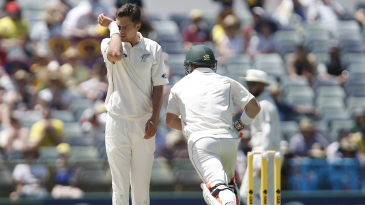 Trent Boult didn't find the right rhythm early on