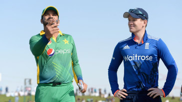 Eoin Morgan won his second toss of the series and chose to bat first