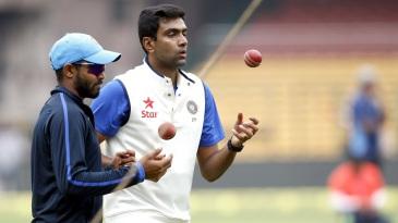 Ravindra Jadeja and R Ashwin tune up ahead of the second Test