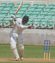 Jamaica's John Campbell scored a patient 43, Jamaica v Windward Islands, Regional 4 Day Tournament, Kingston, 1st day, November 13, 2015