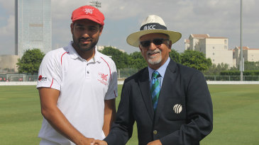 Babar Hayat was named Man of the Match after scoring 113 and 73 in Hong Kong's victory