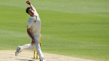 Mitchell Starc cranked up the pace at the WACA