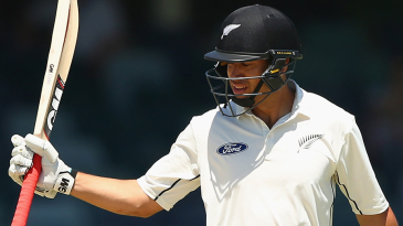 Ross Taylor notched up the highest score by a New Zealand batsman in away Tests