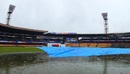 Cyclonic rains continued to hound the Chinnaswamy Stadium, India v South Africa, 2nd Test, Bangalore, 3rd day, November 16, 2015