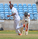 Mervin Matthew celebrates having David Bernard caught behind, Jamaica v Windward Islands, Regional 4 Day Tournament, Kingston, 3rd day, November 15, 2015