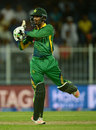 Zafar Gohar cleared the ropes in his debut innings, Pakistan v England, 3rd ODI, Sharjah, November 17, 2015