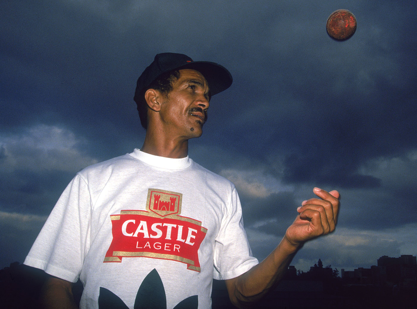 In 1992, left-arm spinner Omar Henry, aged 40, became the first non-white player to play Test cricket for South Africa