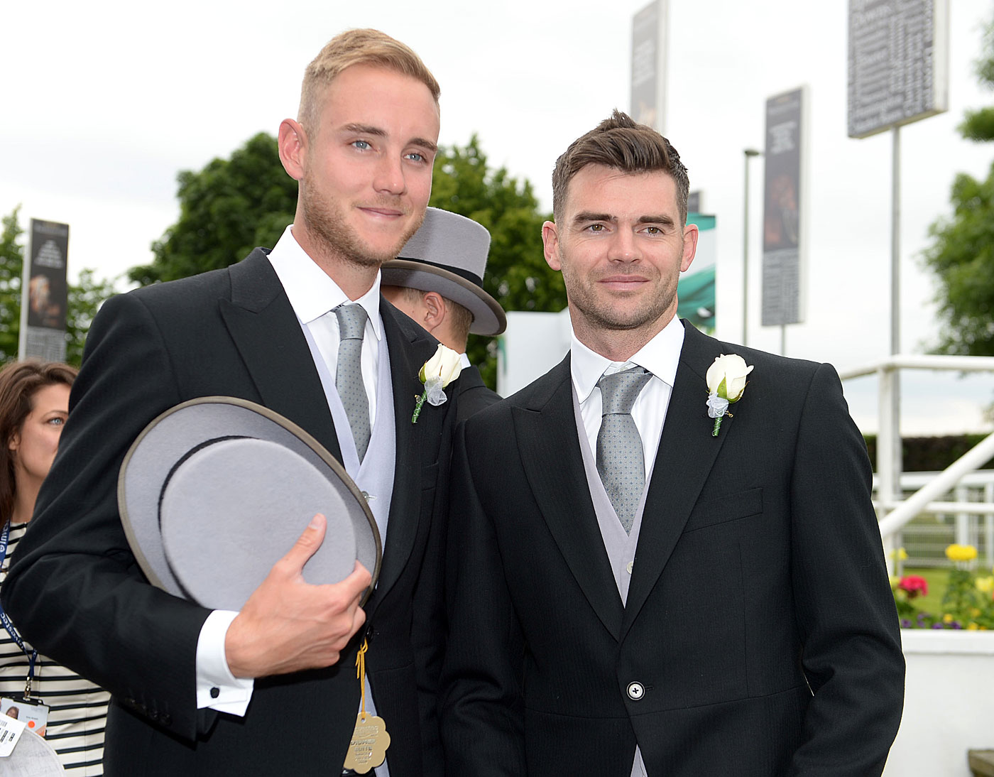 Jimmy's best man: Broad has always been second behind James Anderson