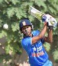 Zeeshan Ansari chipped in with 34, India v Bangladesh, Tri-Nation Under-19s Tournament, Kolkata, November 20, 2015