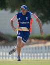 Andy Flower gets a bat back in his hand, Dubai, November 22, 2015