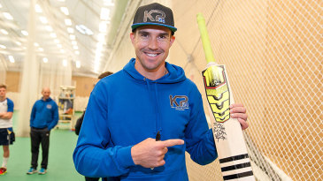 Kevin Pietersen at the launch of the Sprite 24/7 project