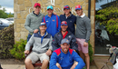 Namibia players enjoy an off day heading out to golf, World T20 Qualifier, Dublin, July 20, 2015