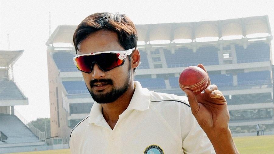Shahbaz Nadeem claimed 11 for 90