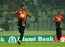 Abu Hider picked up 2 for 21, Comilla Victorians v Barisal Bulls, Bangladesh Premier League, Dhaka, November 25, 2015