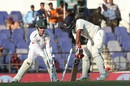 Amit Mishra was bowled by Imran Tahir for 14, 3rd Test, Nagpur, 2nd day, November 26, 2015