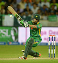 Rafatullah Mohmand made 16 from 20 balls on debut at the age of 39, Pakistan v England, first T20, Dubai, November 26, 2015