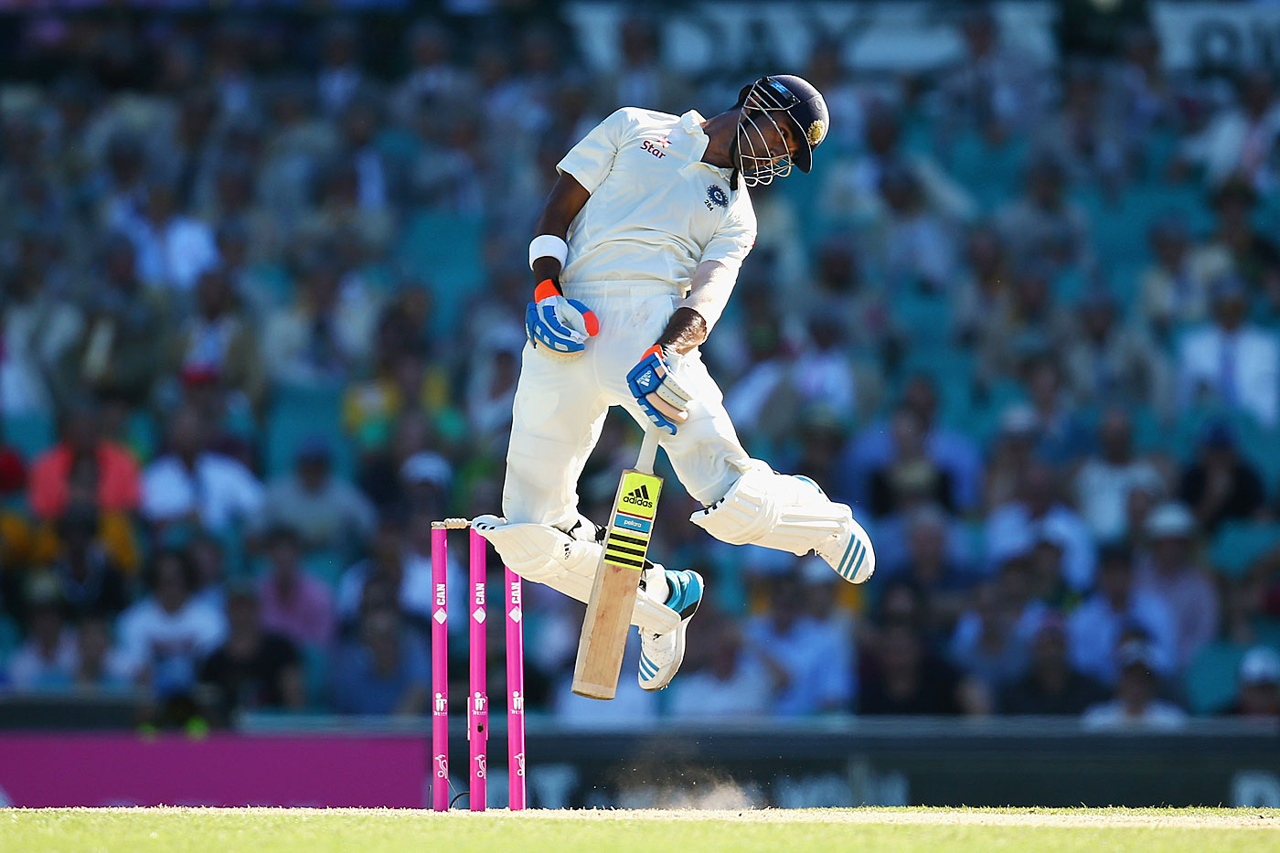 The bouncer is used to shake a batsman out of his comfort zone but sometimes the effects can be much more severe