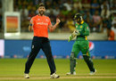 Liam Plunkett's pace again proved crucial, Pakistan v England, 2nd T20, Dubai, November 27, 2015